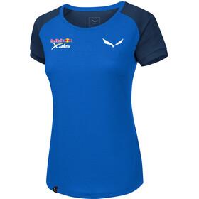SALEWA Redbull X-Alps Delt Camiseta manga corta Mujer, royal blue